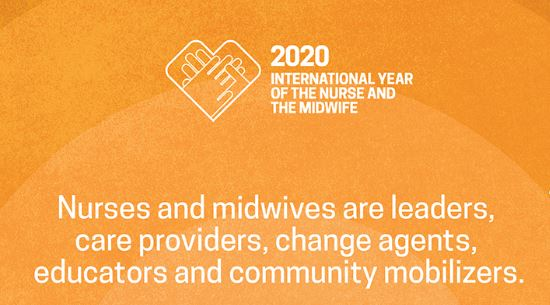 World Health Day 2020 Theme, Thanks Support Nurses and Midwives